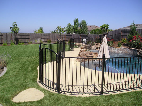 Wrought Iron Pool Fence Walnut Creek