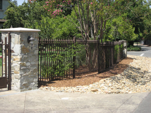Residential Wrought Iron fence Walnut Creek