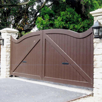Wrought Iron Gate Access Control